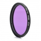 Universal Super Thin 49mm FLD Fliter for DSLR Camera - Black + Purple
