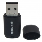 Mini Wi-Fi / WLAN Wireless Network USB 2.0 Adapter - svart