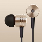 XIAOMI In-ear Earphone w/ Mic - Coffee + Golden (3.5MM Plug)