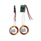 TENYING TY289 DIY Wireless Charging Transmitter / Receiver Module w/ LED Light - Green + Golden