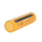 SuperFire 3.7V 2000mAh Rechargeable Li-ion 18650 Battery - Yellow + Black