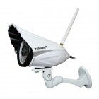 WANSCAM HW0034 Mini Style 1.0 MP CMOS HD IP Camera w/ 36-IR LED - White