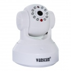 "WANSCAM HW0024 1/4"" CMOS 1.0MP Security Indoor Mini IP Camera w/ 10-IR-LED / TF Card / Wi-Fi - White"