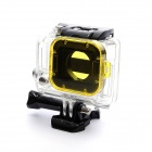Professional Diving Housing Filter for GoPro Hero 3 - Yellow