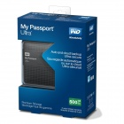 WD My Passport Ultra 500GB Portable External Hard Drive USB 3.0 with Auto and Cloud Backup -Titanium
