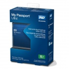 WD My Passport Ultra 1TB Portable External USB 3.0 Hard Drive with Auto Backup - Blue