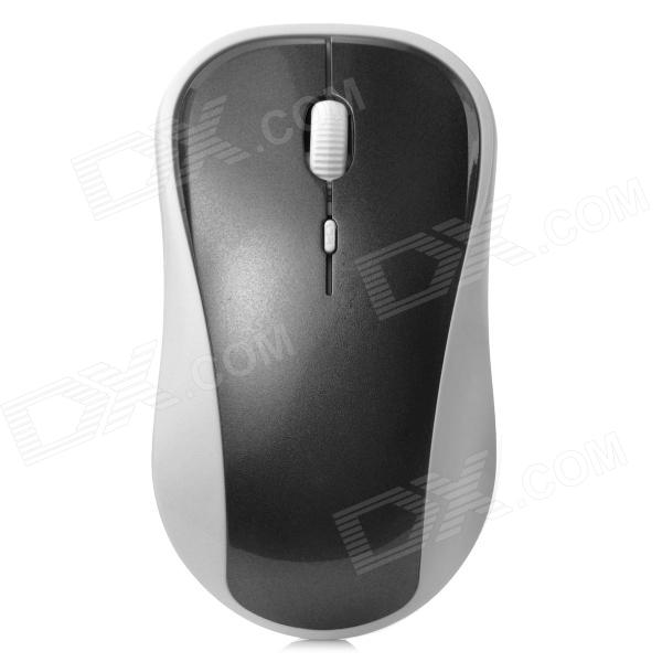 VMW-138 2.4G Wireless 2000dpi Laser Mouse - White + Grey (2 x AAA)
