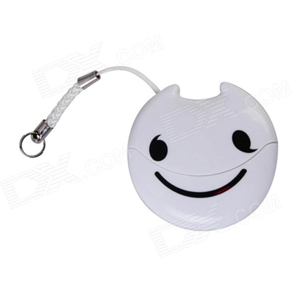Easeyes E202 Smile Face Pattern Micro SD / TF Card Reader - White