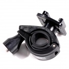 TOZ Plastic Bicycle Bracket Holder w/ Fast Release Plate for GoPro Hero 3+ / 3 / 2 / 1 + More -Black