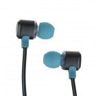 Fashion Professional In-Ear Earphones - Light Blue + Black (3.5mm Plug / 120cm-Cable)