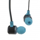 Fashion Professional In-Ear Ohrhörer - Hellblau + Schwarz (3,5-mm-Stecker / 120cm-Kabel)