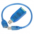 Z-Tek Magnet-Aislamiento USB a RS485 FT232 + ADM2587 Converter - Blue Light