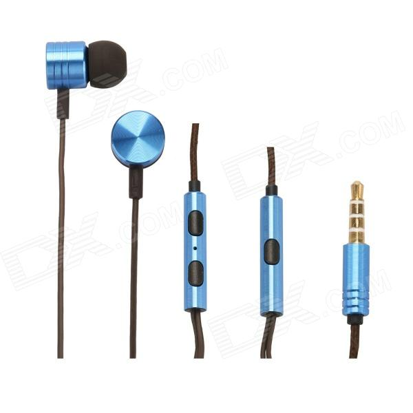 XIAOMI 3.5mm Stereo In-ear Earphones for MI2 MI2S MI2A Mi1S M1,JIAYU G4,G3S,G2S - Blue (110cm)