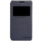 NILLKIN Protective PU Leather + PC Case Cover w/ Visual Window for SONY Xperia E1 D2105 - Black