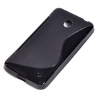 "S"" Style Protective TPU Back Case for NOKIA Lumia 630 / 635 - Black"