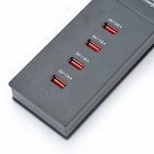 ups-001 Safety Smart 5A High Speed 4-Port USB Fast Charger
