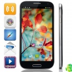 "GT-i9200(GT-9200) MTK6589 Quad-Core Android 4.2.2 WCDMA Phone w/ 6.0"", GPS, FM, ROM 8GB - Deep Blue"