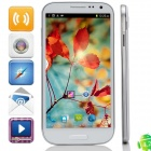 "GT-i9200(GT-9200) MTK6589 Quad-Core Android 4.2.2 WCDMA Phone w/ 6.0"", GPS, FM, ROM 8GB - White"