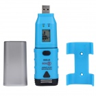BSIDE BTH06 USB External High Accuracy Temperature Probe Temperature Recorder - Black + Blue