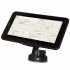 "788 7 ""Touch Screen Android 4.2 GPS Navigator w / Wi-Fi / DVR chamada Camera / Telefone - Black (4GB)"