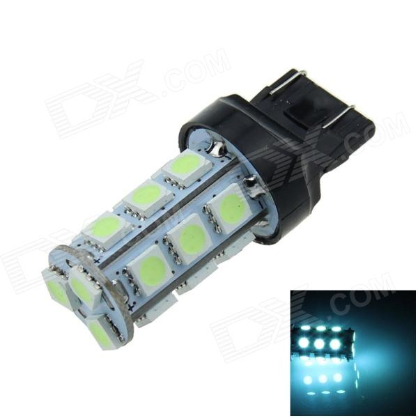 7443 / 7440 / T20 4W 200lm 18-SMD 5050 LED Ice Blue Car Steering / Brake / Backup Light (12V) - DXLED Wedget Bulbs<br>High brightness energy-saving easy to install; Lifetime: more than 50000 hours; Replaceable model: T20 21W 5W 7440 7443 ECE W3X16Q W3X16D W21W W21-5W. The power count by theoretical power of LED. Because we add the resistance to protect the LED. So the actual output power is less than of the theoretical power.<br>