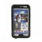Protective PC + Silicone Waterproof Case for Samsung Galaxy Note 3 - Black + Transparent