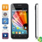 "A4500 Android 4.3.3 WCDMA Phone w/ 4.0"", GPS, 512 MB RAM, 4GB ROM - Black"