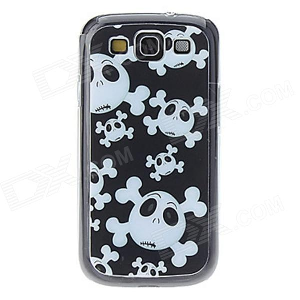 Kinston Skull Pattern LED Light-Emitting Hard Back Case w/ Caller Flash for Samsung Galaxy S3 i9300