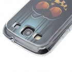 Kinston Pumpkin Pattern LED Light-Emitting Hard Case with Caller Flash for Samsung Galaxy S3 i9300