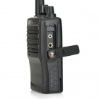 WET-318 5W 16-Channel 400~470MHz Walkie Talkie - Black