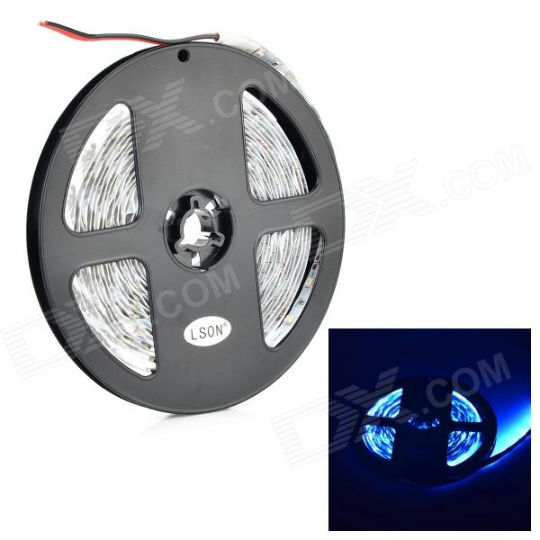 LSON 12W 900lm 468nm 300-3528 SMD LED Blue Light Газа-белый (DC 12V / 5m)