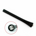 TP-G LED Emitting UHF Rubber Antenna for Walkie Talkie - Black + Green