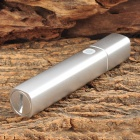 Multi-Function 100lm 1-LED 1-Mode Cool White Light Flashlight + Power Bank (1 x 18650)