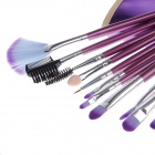 16 PCS Professional Kosmetiikan Meikit Brush Set - Purple