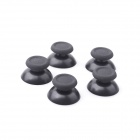 008 MGT PS4 Mushroom Rocker Cap Gamepad 3D - preto (5 PCS)