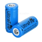Ultrafire LC 16340 3.6V 1000mAh Protected CR123A Batteries (Pair)