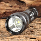 FANDYFIRE WF-502B 650lm 1-LED Cool White Light 5-Mode Flashlight - Black (1 x 18650)
