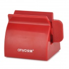 Anya D645 Handy Toothpaste / Facial Cleanser Sqeezer Clamp - Purplish Red