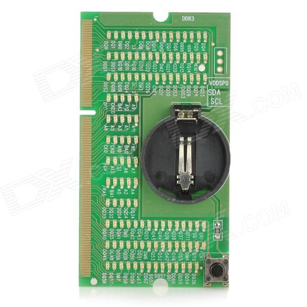 LXH KA-03 Memory Detection Mainboard for Notebook Computer analyze
