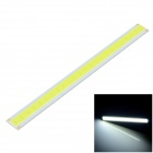 F21-z 6W 480lm 6000K 24-COB LED White Light Strip - Silver + Yellow (12~14V)