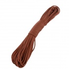 OUMILY 7-Core Survival Parachute Cord Paracord - Dark Brown (30M / 140KG)