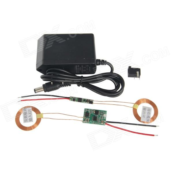 все цены на  TENYING TY369 Wireless Charging Transmitter + Receiver Solution Module w/ LED + Power Connector  онлайн