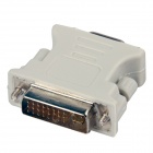 DVI 24 + 5 Man till VGA hona adapter - Vit (10 PCS)