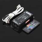 YouOkLight 240W/480W DMX 43-Mode Remote Controller for LED Strip - Black (12~24V)