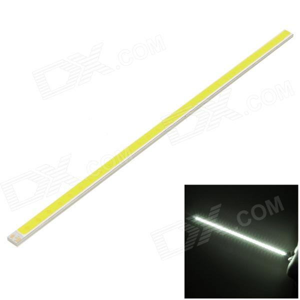 F31-z 6W 480lm 6000K 30-COB LED White Light Strip - Silver + Yellow (9~11V)