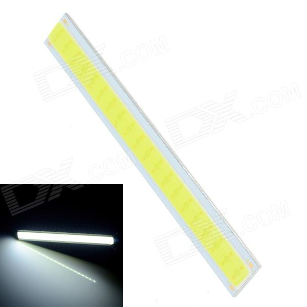 49-z 4W 320lm 6000K 20-COB LED White Light Strip - Silver + Yellow (12~14V)