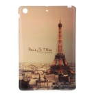 Eiffel Tower Pattern Soft TPU Cover Case for IPAD Mini - Brown + Dark Brown