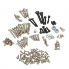 Steel Screws Set for R/C Helicopter 450 - Silver + Black