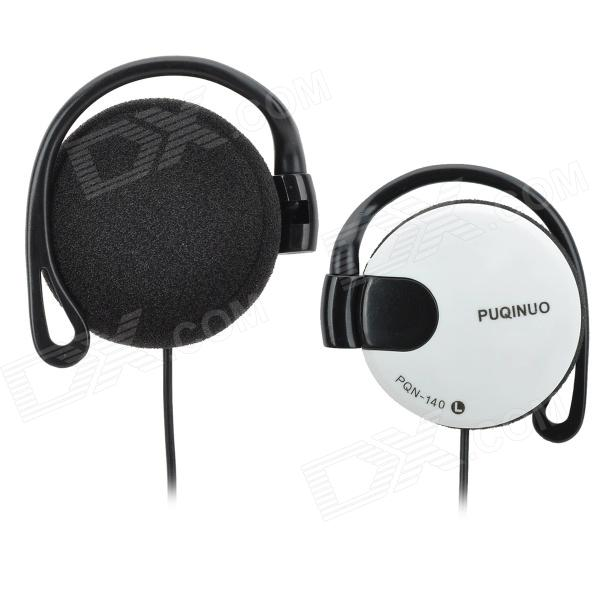 PUQINUO PQN-140 Universal 3.5mm Jack Wired Headphone - White цена