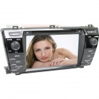 "LsqSTAR 7"" Touch Screen 2-DIN Car DVD Player w/ GPS, AM, FM, RDS, 6CDC, Canbus, AUX for Corolla 2014"